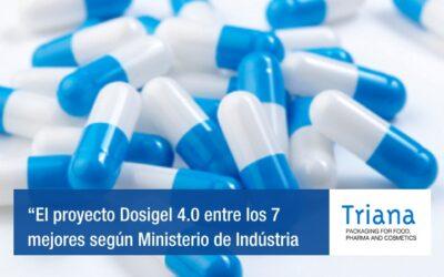 El proyecto Dosigel 4.0 de IP Triana se situa entre los 7 mejores según Ministerio de Indústria