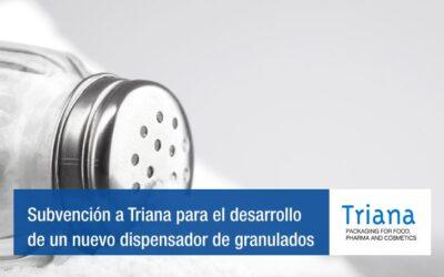 Acció atorga una subvención a IP Triana para el desarrollo de un nuevo dispensador de granulados