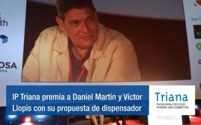 IP Triana premia a Daniel Martín y Víctor Llopis con su propuesta de dispensador