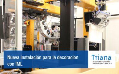 IP Triana incorpora una nueva instalación para la decoración con IML