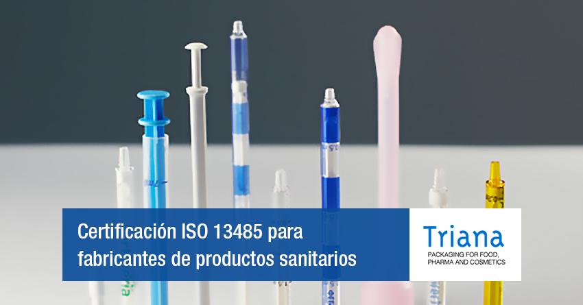 certificación ISO 13485 Sanitario