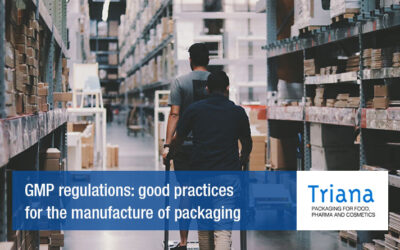 GMP regulations: good practices for the manufacture of packaging
