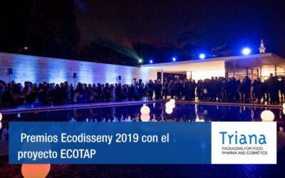 Triana obtiene una mención en los premios Ecodisseny 2019 con el proyecto ECOTAP