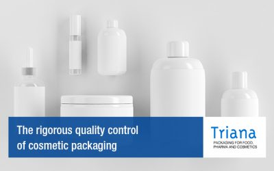 The rigorous quality control of cosmetic packaging