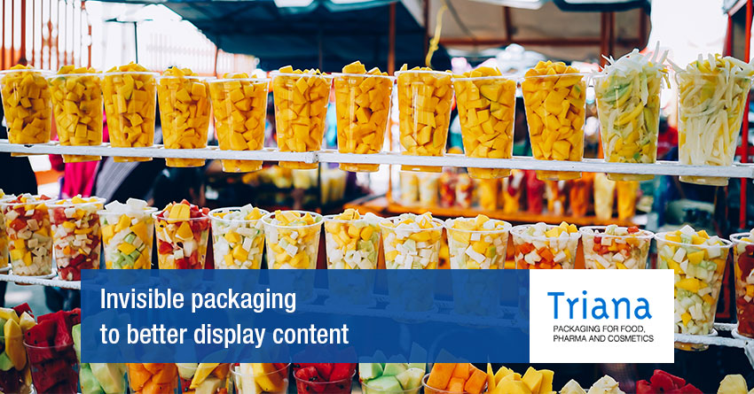 Transparent packaging and its uses