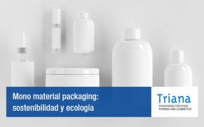 Mono material packaging: sostenibilidad y ecología