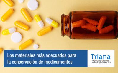 Los materiales más adecuados para la conservación de medicamentos