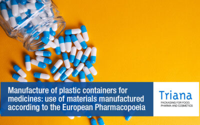 Manufacture of plastic containers for medicines: use of materials manufactured according to the European Pharmacopoeia