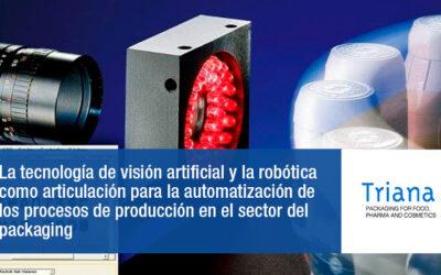 La automatización de los procesos de producción en el sector del packaging