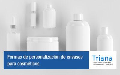 Formas de personalización de envases para cosméticos
