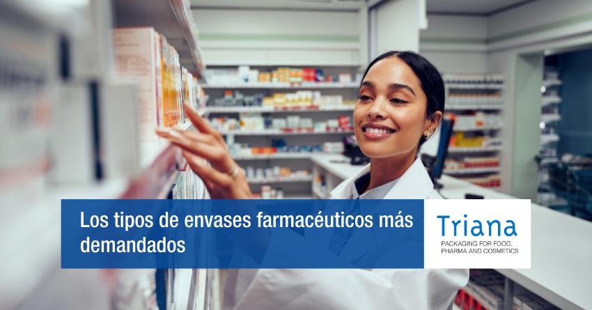 Los dos tipos de envases farmacéuticos más demandados