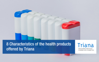 8 Characteristics of the health products offered by Triana
